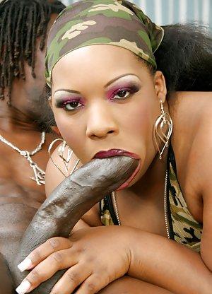 Huge Ebony Dick Pictures
